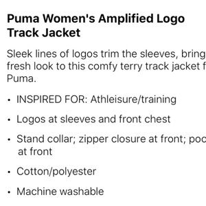 Puma Other - Puma 2 pc set leggings and jacket